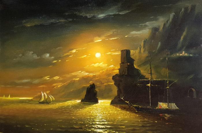 Painting: Moon Light
