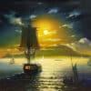 Painting: Mediterranean Sea