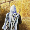 Painting: Man praying by the Wall