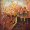 Painting: Jerusalem, the place chosen by God