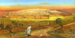 Alex Levin - A long walk to the Old City