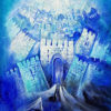 Painting: Abstract Jerusalem Painting