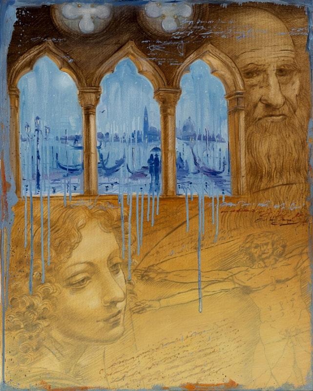 Original Oil Painting: Bach – St. Matthew Passion