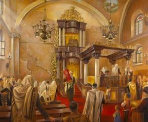 praying in the synagogue hurva