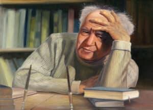 Ben Gurion painting