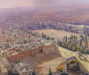 jerusalem birds eye view