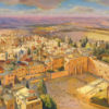 Painting: Birds eye view of the Kotel