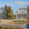 Painting: Blue Rhapsody on Bialik street