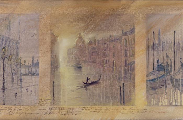 Original Oil Painting: Brahms – Symphony No.3 Poco Allegretto