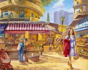 Carmel Market - Alex Levin