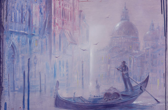 Original Oil Painting: Chopin – Piano Concerto No.2