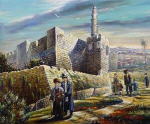 Alex Levin - David's Tower