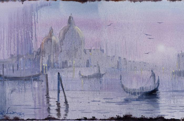 Original Oil Painting: Debussy – La Mer