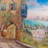 Painting: Enchanting old Jaffa