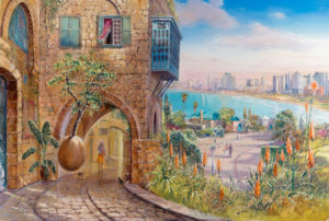 Alex Levin - Enchanting old Jaffa