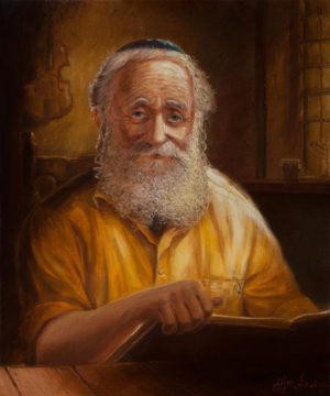 man with torah