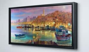 Jaffa tel aviv painting