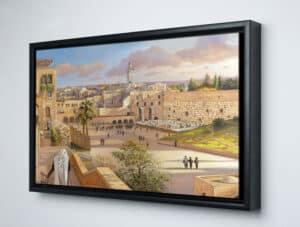 jerusalem painting framed