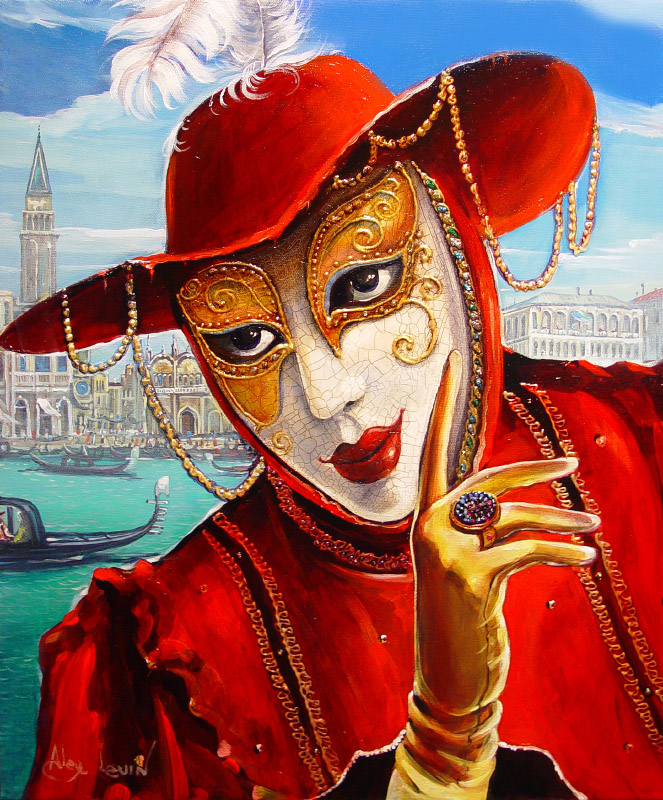Original Oil Painting: Fortune Teller