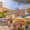 Painting: Friday morning on Nahalat Benyamin