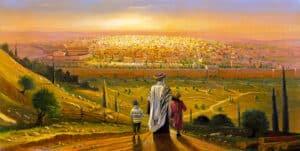 jerusalem painting