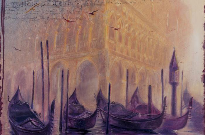 Original Oil Painting: Grieg – Peer Gynt Suite No. 1