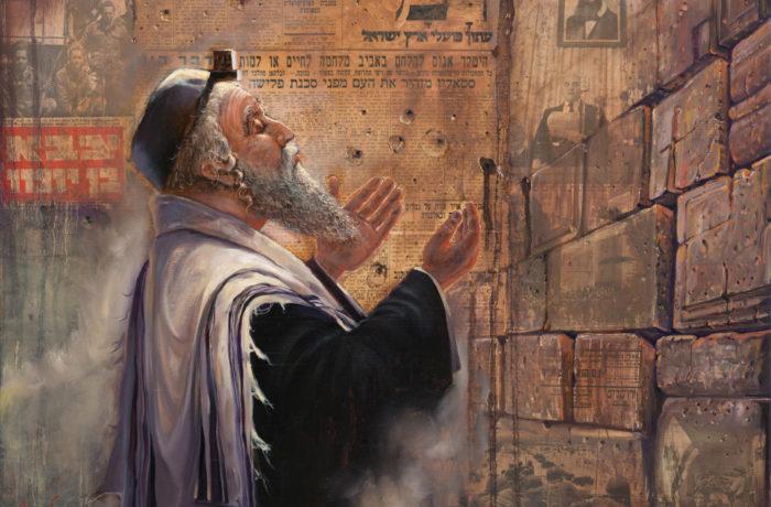 Original Oil Painting: Herzl's Dream