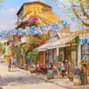Painting: Independence day in Nevei Zedek