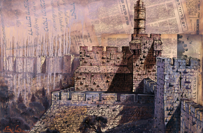 Original Oil Painting: Israel's War of Independence