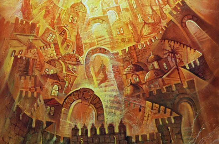 Original Oil Painting: Jerusalem – Aspiration of truth
