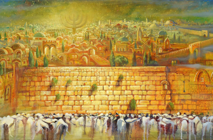 Original Oil Painting: Jerusalem – Light to the nations
