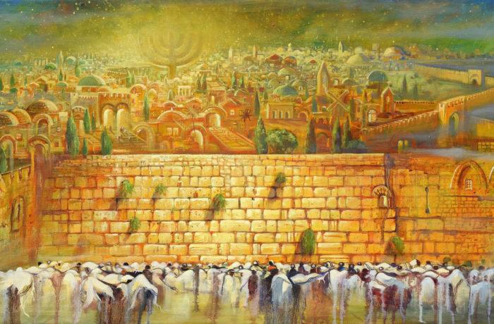 Original Oil Painting: Jerusalem – Light to the nations