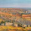 Painting: Jerusalem a City on Seven Hills