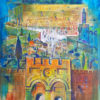 Painting: Jerusalem at Night