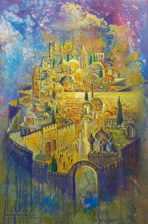 jerusalem contemporary painting