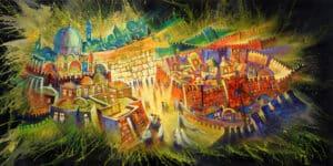 Contemporary Jerusalem Painting