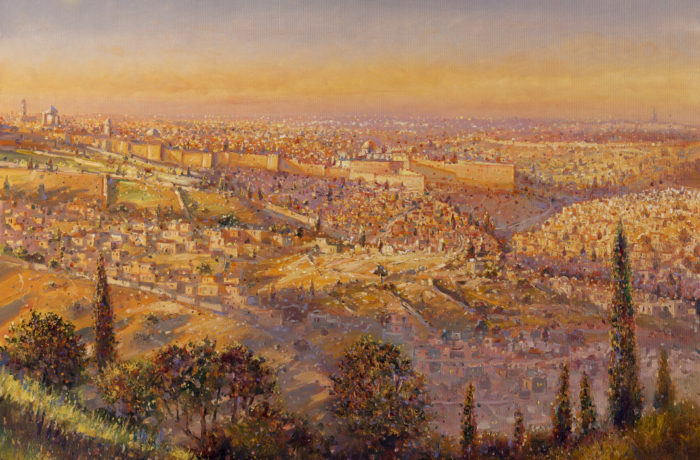 Painting: Jerusalem of Gold
