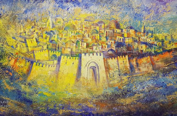 Original Painting: Jerusalem of Gold