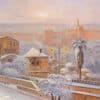 Painting: Jerusalem wears white