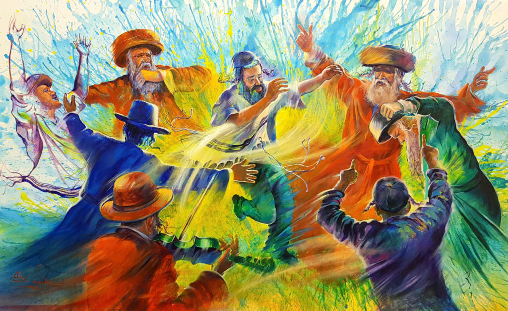 Jewish hasidic dance