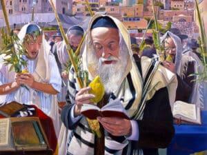 sukkoth at the kotel
