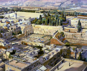 jerusalem birds eye view