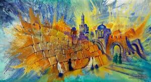 modern jerusalem art