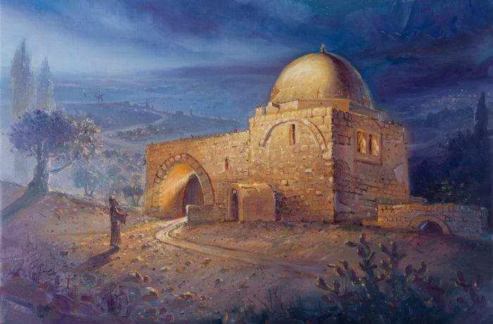 Original Oil Painting: Kever Rachel