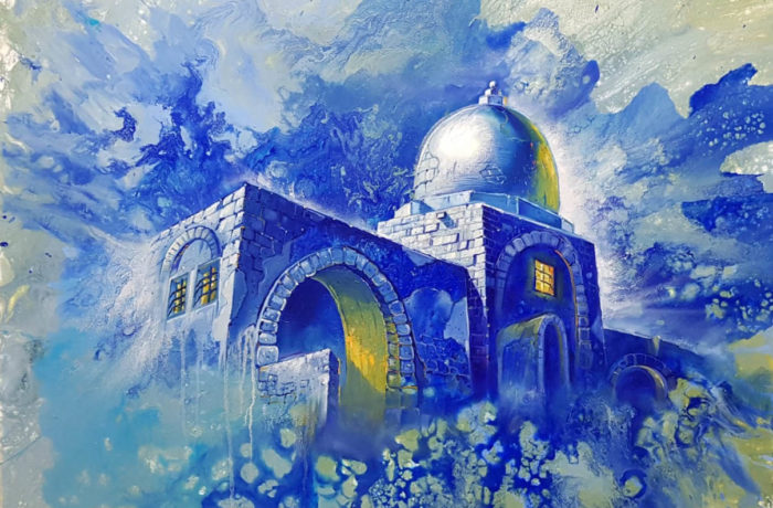 Painting: Kever Rachel – In need for divine intervention