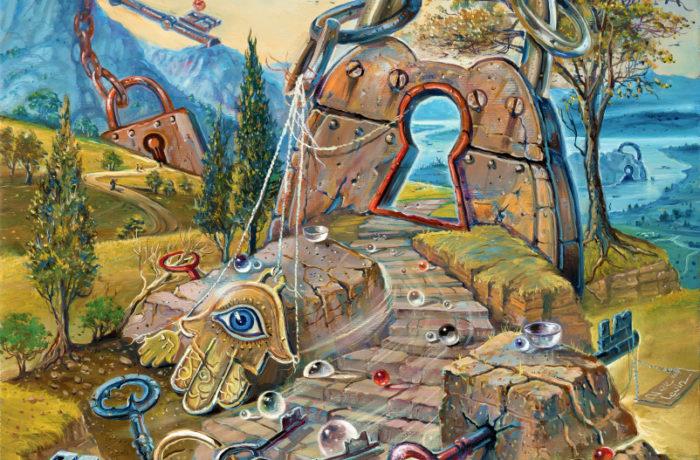Original Oil Painting: Know thyself