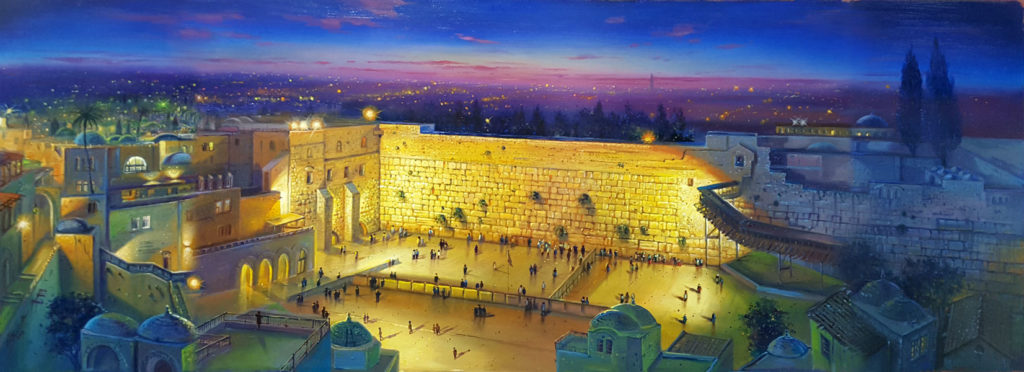 Jerusalem and Jewish Paintings
