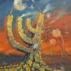 Painting: Kristallnacht Novenber 9th 1938