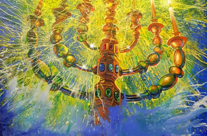 Original Oil Painting: Light Unto the Nations