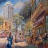 Painting: Light of Tel Aviv